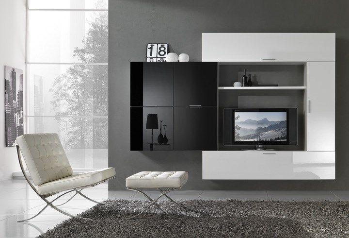 Parete attrezzata Max giorno 177013O702 #soggiorno #arredamento #madeinitaly #design #living #furnishing #pensarecasait