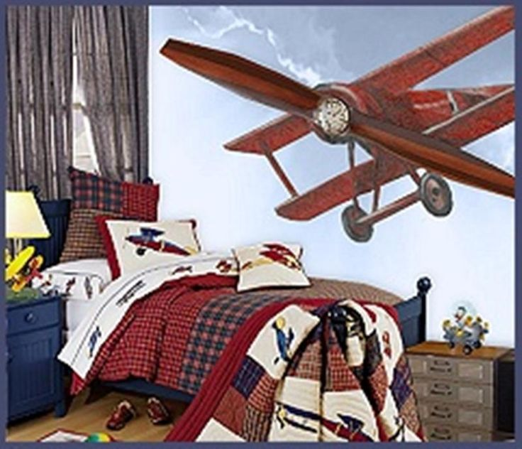 15 Cool Airplane Themed Bedroom Ideas For Boys In 2019