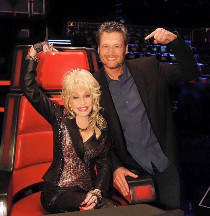 Dolly Parton ✾ and Blake Shelton
