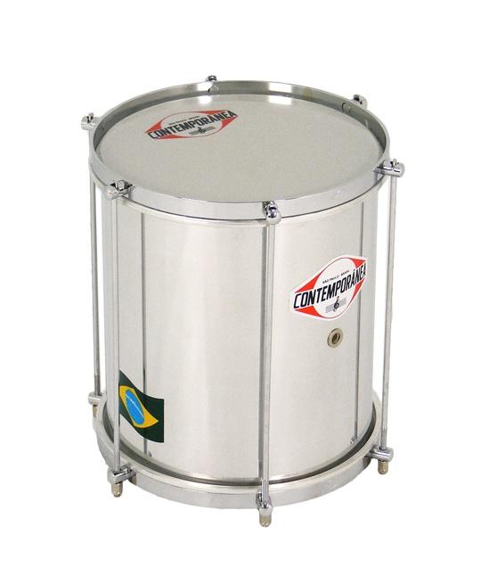 """Repinique 10"""" x 30cm 6 lug Pro. Brazilian Samba percussion from Contemporânea"""