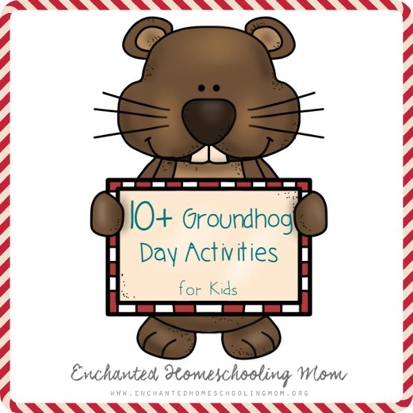 Let the groundhog day themed fun begin with these 10+ Groundhog Day activities for kids!