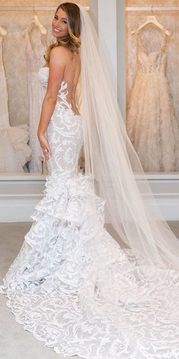 30 Mermaid Wedding Dresses You Admire Dream Dress Pinterest And Gowns