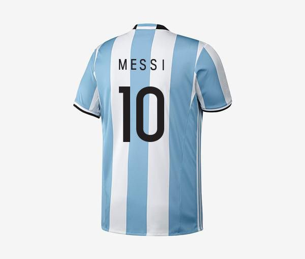 Argentina Home Jersey - Messi (2016-17)