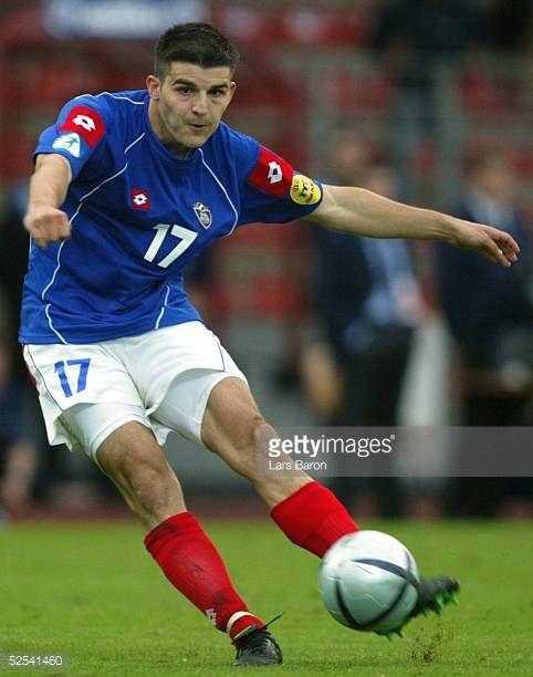 Fussball U 21 EM 2004 Oberhausen Schweden Serbien Montenegro Simon VUKCEVIC / SCG 050604