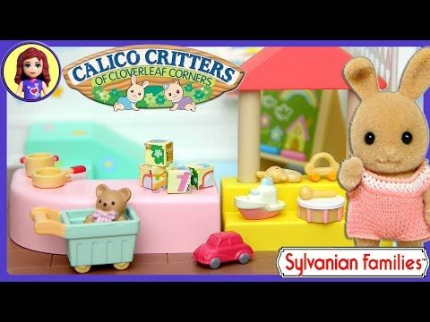 Sylvanian Families Calico Critters Toy Shop Unboxing Review and Setup - Kids Toys - YouTube