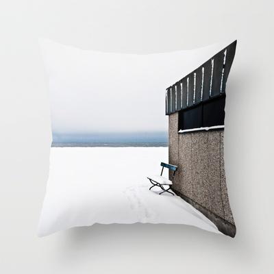WINTER Throw Pillow by lilla värsting - $20.00