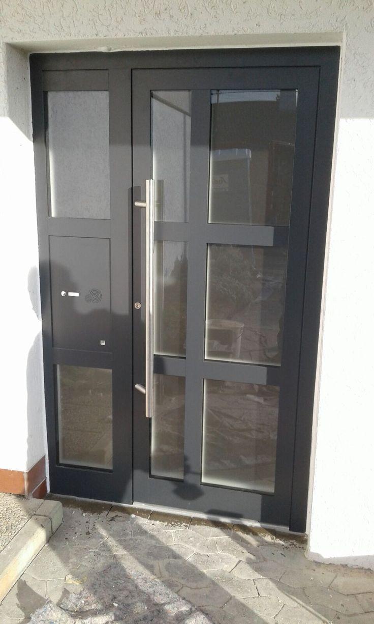 Kompotherm-Haustüre in Esslingen eingebaut. – Frank Dreher – Fenster und Türen