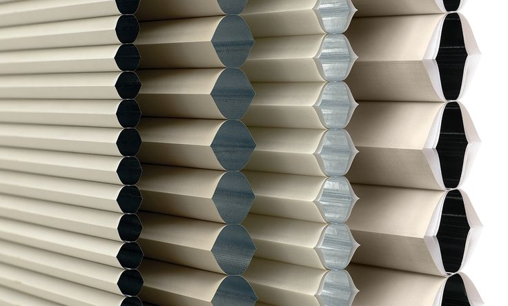 Luxaflex Duette Architella Ménage Shades provide even greater energy efficiency and can dramatically reduce heating costs.