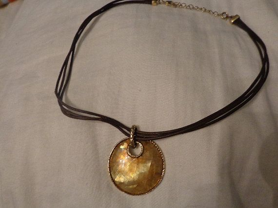 Vintage Monet Necklace/Choker Beautiful Round by FindandReStore, $14.99