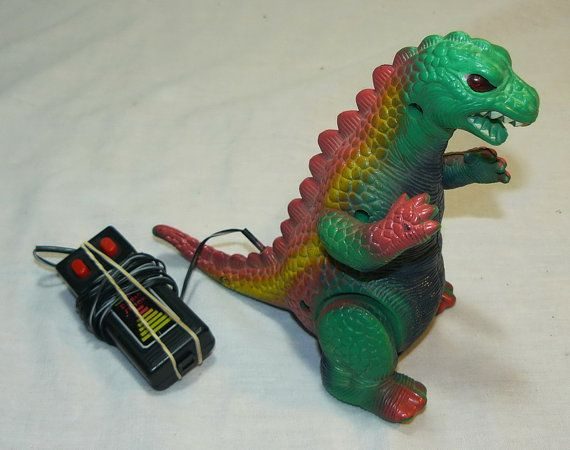 Radio Shack Toys For Boys : Vintage godzilla battey operated toy from radio shack