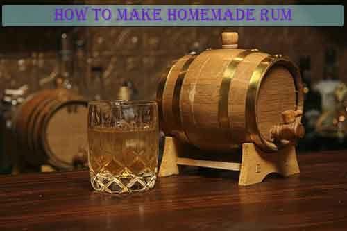 How To Make Homemade Rum