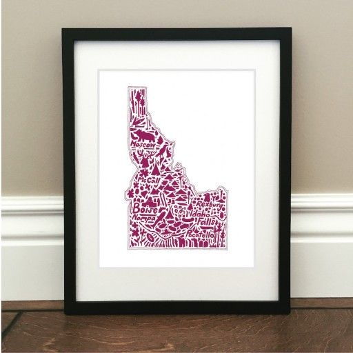 Map Art Print | Brickyard Buffalo | Daily Boutique Deals