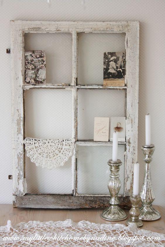 20 modi creativi per decorare con una vecchia finestra… Ispiratevi!