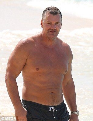Evergreen! Craig Fairbrass, who became a household name playing lothario Dan Sullivan in EastEnders before going on to become a Hollywood star continued to turn heads twenty years on as he enjoyed a beach day in Barbados this week