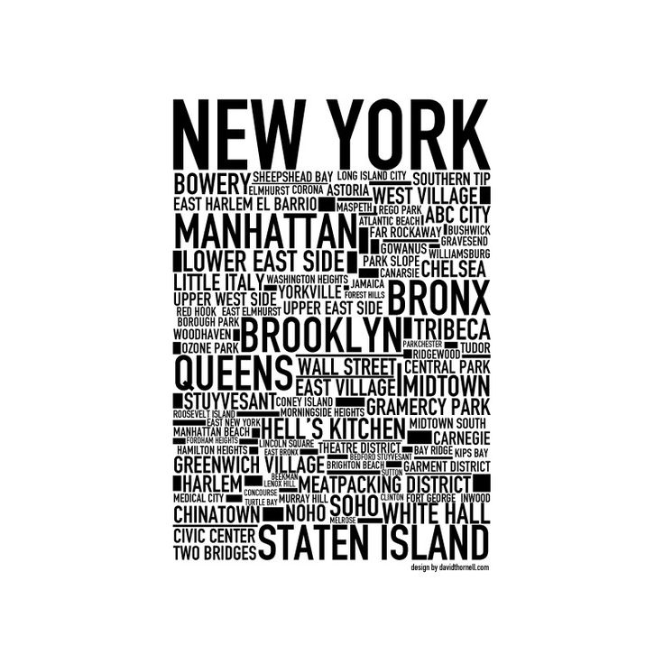 New York Poster. Köp dina New York posters online!