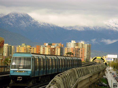 metro, Santiago (Chile)