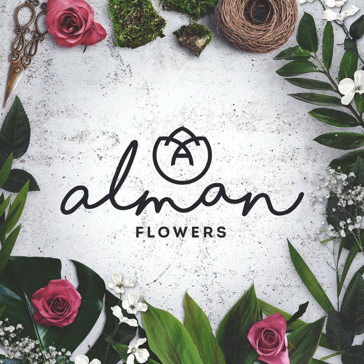 Лого для цветочного салона