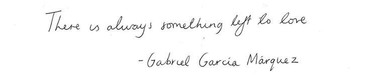 The Most Fondest Farewell, Gabriel García Márquez :: This is Glamorous