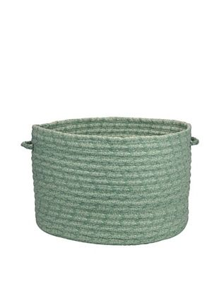 61% OFF Colonial Mills Solid Fabric Print Basket (Light Green)