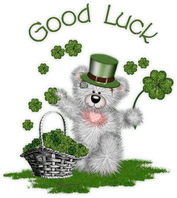 Image: Good Luck | Animated Glitter Gif Images