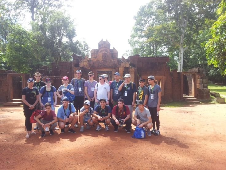 Scratching the surface of the Kingdom of Wonder. #VietnamSchoolTours #Cambodia