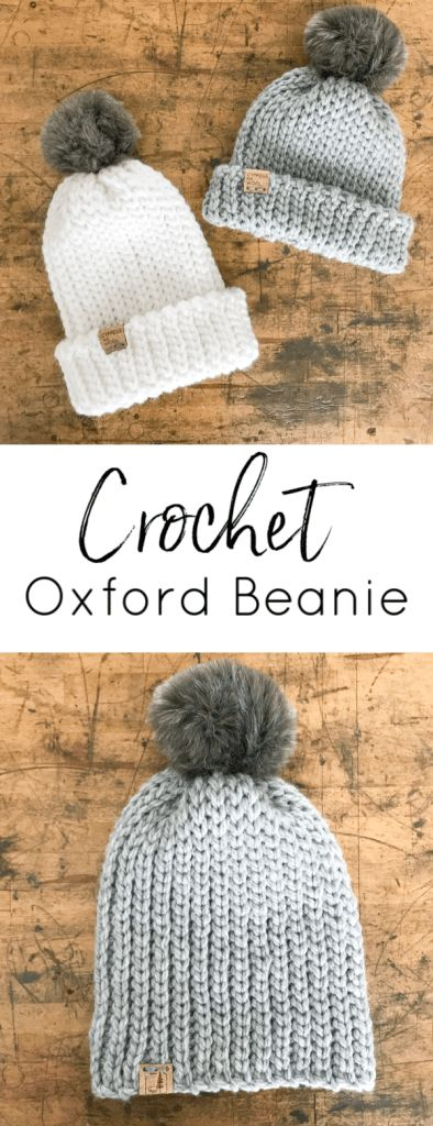 Free Crochet Pattern: Oxford Beanie – Cypress and Wool