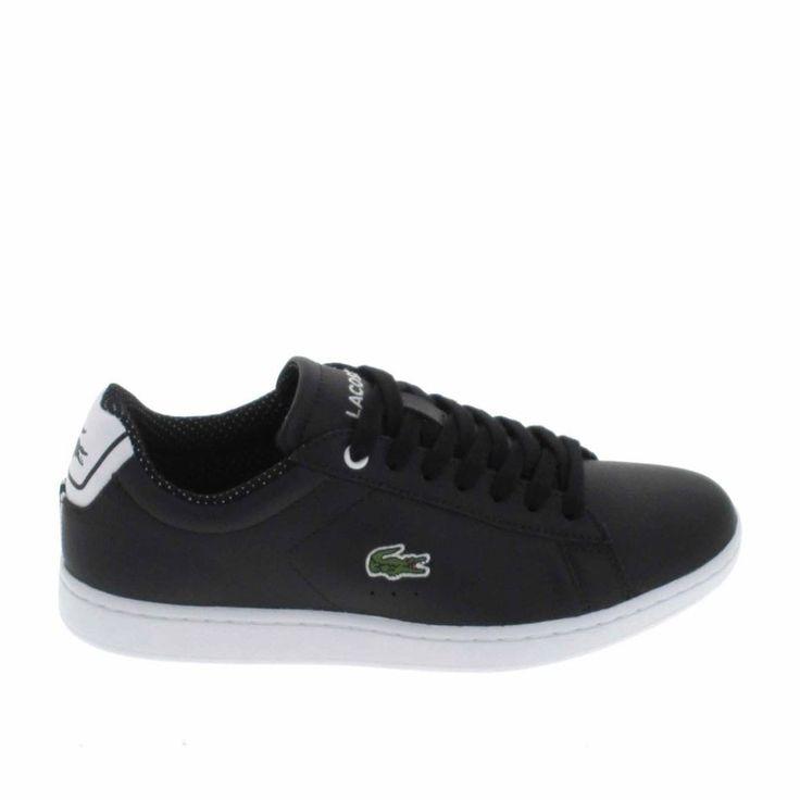Basket -mode - Sneakers LACOSTE Light R 117 Noir Saumon oSqlITfS5