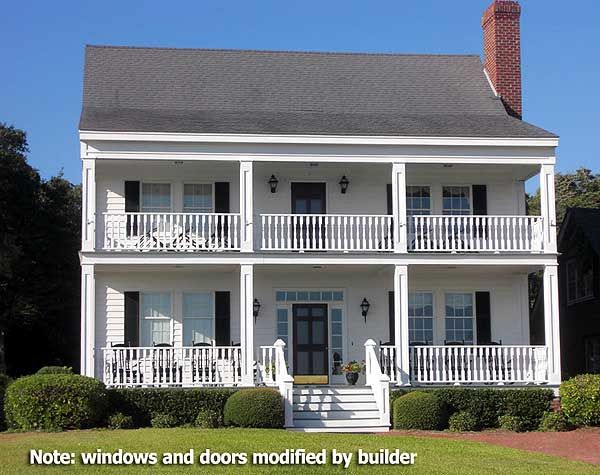 Small Southern Plantation House Plans House Plans