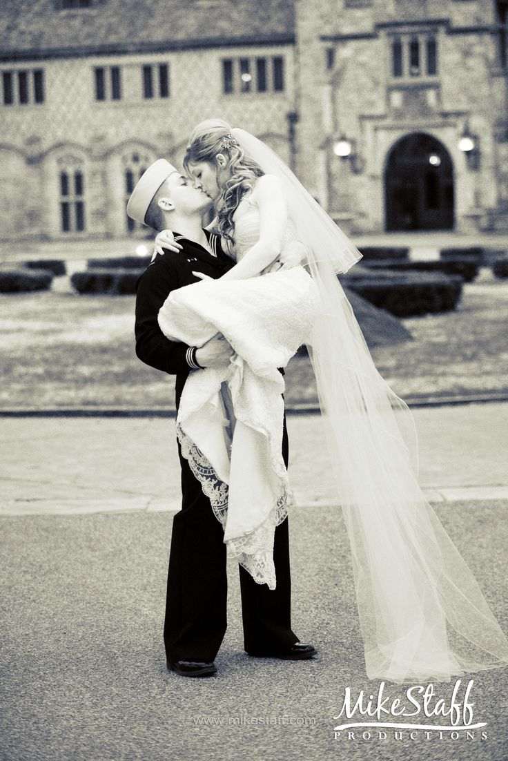 For some reason I love this wedding photo :)