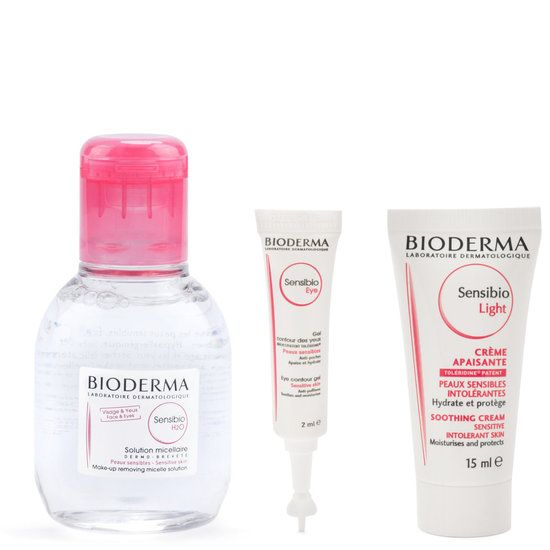 <p>The Discovery Set: Sensibio is a travel-size kit that includes three of the best sellers from the Bioderma Sensibio range - all at the value of $9.90.</p> <h5>This set includes:</h5> <ul> <li>Sensibio H2O (100 ml)</li> <li>Sensibio Eye (2 ml)</li> <li>Sensibio Light (15 ml)</li> </ul>