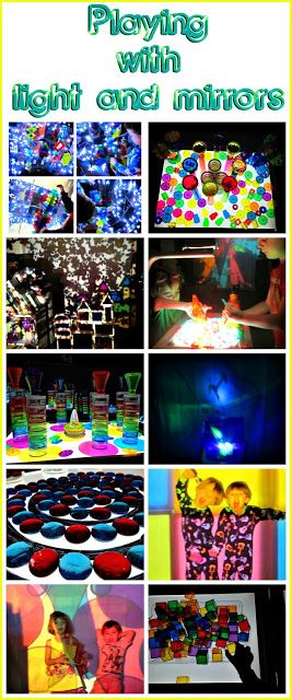 The Art of Play: Playing with light and mirrors