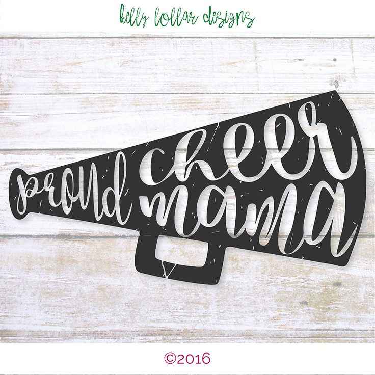 2 Proud Cheer Mama svgs | Cheer Mom svg | Cheer Megaphone svg | Cutting File for Cricut, Silhouette and Other Die Cut Machines by KellyLollarDesigns on Etsy