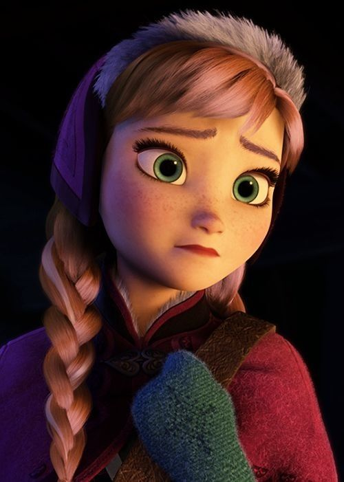 Anna is generally optimistic, but here is a scene where she shows real human emotions of sadness. It gives her so much more depth.
