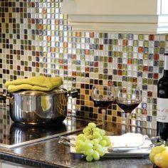 Smart Tiles 9.85 In X 9.85 In Adhesive Decorative Wall Tile Backsplash  Idaho In Grey, Idea
