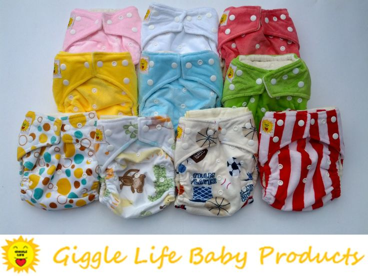Giggle Life Bamboo Cloth Diapers