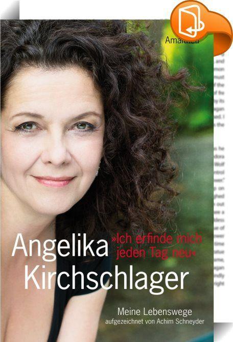 """Ich erfinde mich jeden Tag neu    :  """"Jetzt breche ich aus"""": Der Opernweltstar ganz persönlich  Angelika Kirchschlager, weltbekannte Mezzosopranistin aus Salzburg, beschreitet neue Wege, sie erfindet sich neu. Sie probiert, sie riskiert, sie öffnet sich. Und sie öffnet sich in Buchform. Ungemein persönlich erzählt sie von ihren Erlebnissen vor und hinter den Kulissen: von Triumphen und Tragödien, von Dirigenten und Direktoren, von Bühnen- und von Lebenspartnern, von Liederreisen durch ..."""