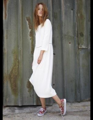 Robe longue en crêpe de coton Roseanna - 50 robes de mariée qui changent - ELLE.fr