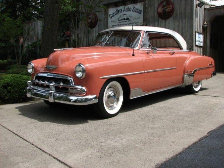 117 best chevrolet 1951 1952 images on pinterest for 1952 chevrolet styleline deluxe 4 door