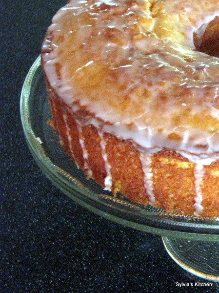 """Margarita Cake:  This cake is so moist and citrusy!  It is the perfect """"take along"""" for a summer picnic!"""