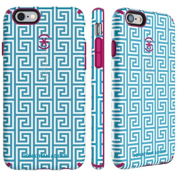 Speck iPhone 6 Plus/6S Plus Inked Candyshell Case -... ($25) ❤ liked on Polyvore featuring accessories and tech accessories