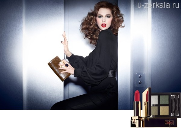 Осень от Yves Saint Laurent: Contemporary Amazon Make Up Collection, Fall 2012