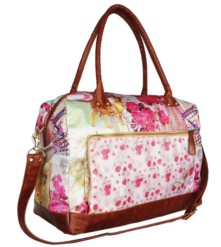 Travel bag in venado