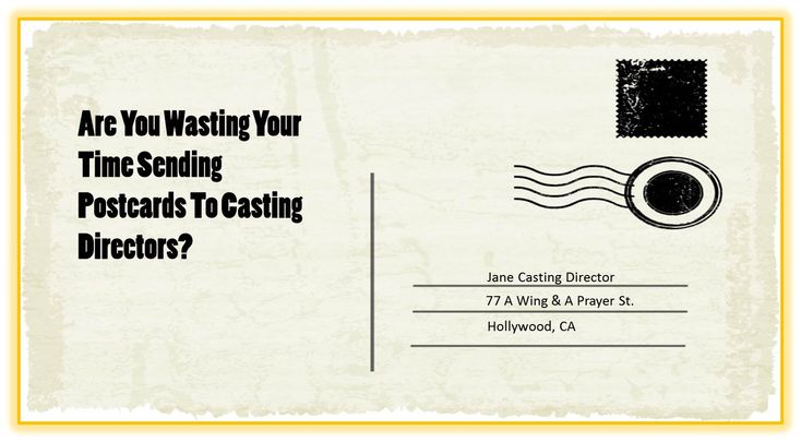 [VIDEO BLOG] The weird postcard controversy: Sending postcards to #casting directors a Yes-Yes or a No-No? #acting #actor #audition #auditioning #castingdirector #actingtips #tipsonacting