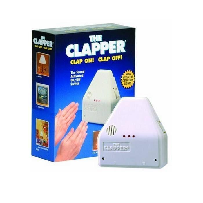 The Clapper Sound Activated On/Off Switch, 1 Each  Giá cũ: 1.248.500 VNĐ  Giá bán: 601.550 VNĐ  http://www.e24h.vn/buy/the-clapper-sound-activated-on-off-switch-1-each.html