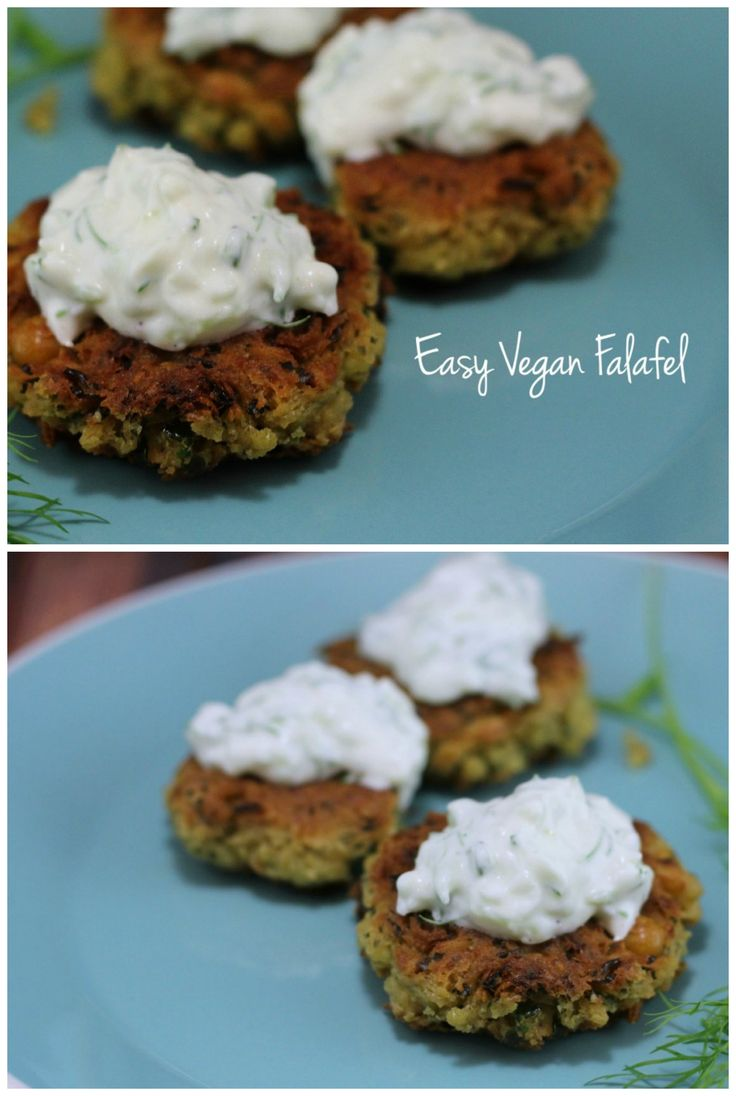 This vegan falafel recipe is SO easy and totally delicious. You only need a few ingredients and it only takes 5 minutes to prepare!