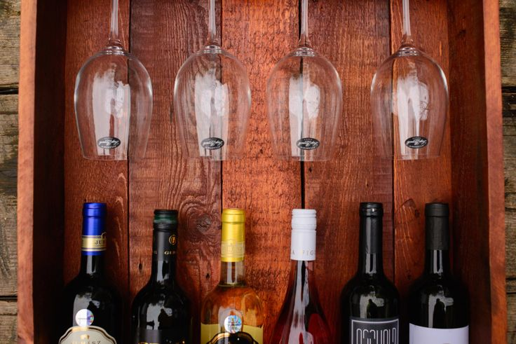Wine rack by HolzDinge on Etsy