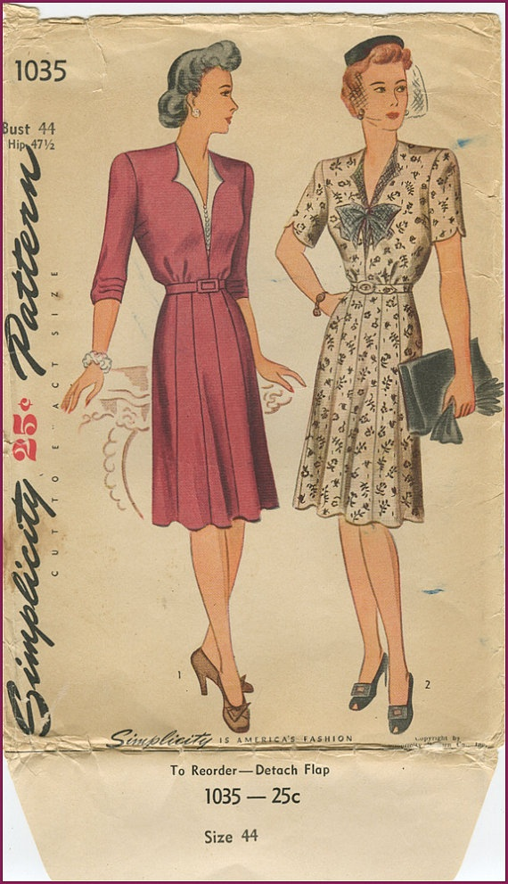 17 Best images about My vintage patterns on Pinterest ...
