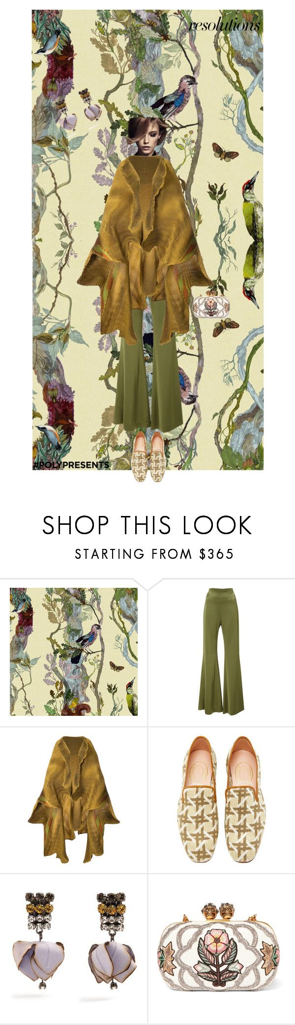 """""""#PolyPresents: Fairytale"""" by ladyarchitect ❤ liked on Polyvore featuring Timorous Beasties, Galvan, Givenchy, Issey Miyake, Stubbs & Wootton, Marni, Alexander McQueen, contestentry and polyPresents"""
