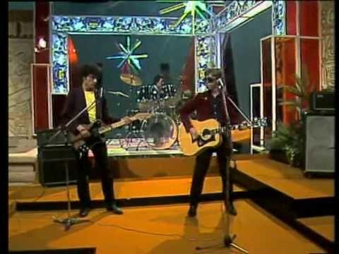 Nacha Pop La chica de ayer, primera aparición del grupo en televisión 1980