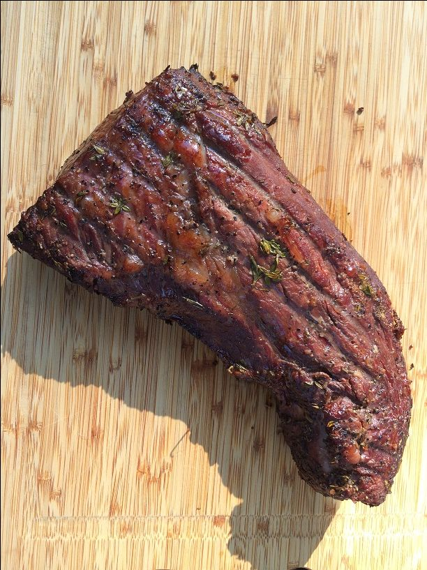 Red Wine Marinated and Smoked Tri Tip  http://www.qualitygrillparts.com/tri-tip-marinade-three-awesome-steak-marinade-recipes/